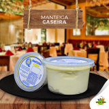 Manteiga Caseira Cremosa com Sal