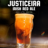6- Justiceira (irish red ale)- Growler 2L
