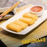 Harumaki de legumes com carne 4 unidades