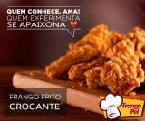 ISCAS DE FRANGO CROCANTE