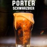8- Porter (Schwarzbier)- Growler 2L