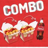 COMBO 2 TROPEIRO COM ARROZ + 1 COCA DE 600 ML