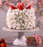 Torta de Morango com Suspiro (1,2kg)